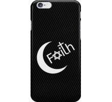 Faith - Carbon Fibre Finish iPhone Case/Skin