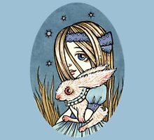 Wonderland Awaits Womens Fitted T-Shirt