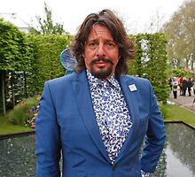 Laurence Llewelyn-Bowen at the RHS Chelsea Flower Show 2013 by Keith Larby