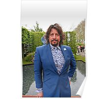 Laurence Llewelyn-Bowen at the RHS Chelsea Flower Show 2013 Poster