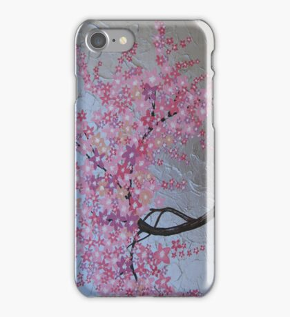 Pink cherry blossom phone cover / case or ipod case iPhone Case/Skin