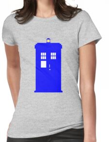 Police Box Womens Fitted T-Shirt