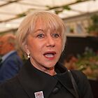 Dame Helen Mirren at the RHS Chelsea Flower Show 2013 by Keith Larby