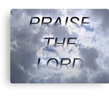 The Lord Canvas Print