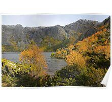 Autumn Beauty at Crater Lake Poster