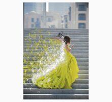 green dress by bradsipek
