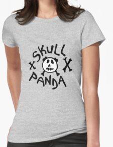 skull panda Womens Fitted T-Shirt
