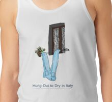 Hung out to dry in Italy Tank Top