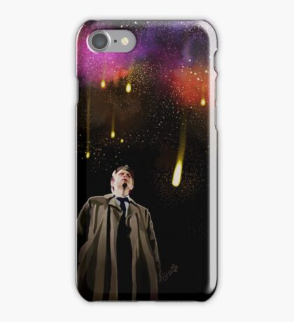 The angels are Falling iPhone Case/Skin
