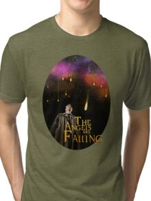 The angels are Falling Tri-blend T-Shirt