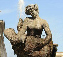Rome Statue of the fountain dell'Esedra by orsinico
