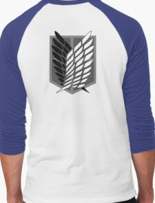 Anime - Titan Men's Baseball ¾ T-Shirt