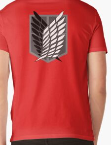 Anime - Titan Mens V-Neck T-Shirt