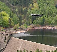 Dambusters 70 Years On - Flypast At The Derwent Dam - Motorwind  Panorama by Colin  Williams Photography