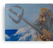 Ruler Of The Sea Canvas Print