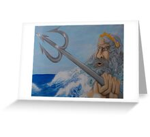 Ruler Of The Sea Greeting Card