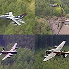 Dambusters 70 Years On - Flypast At The Derwent Dam - 16.05.2013 by Colin J Williams Photography
