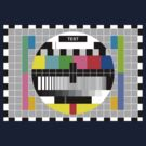 Television Test Pattern by Mark McClare Designs