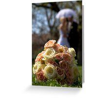 wedding bunch Greeting Card