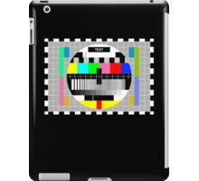 Television Test Pattern iPad Case/Skin