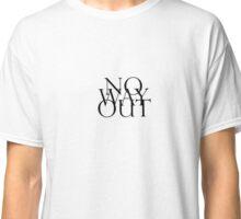 NoWayOut by Slum Classic T-Shirt