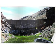 The Damn,near Moon Rocks,Northern Nevada,USA Poster