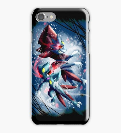 Sneasel and Weavile iPhone Case/Skin