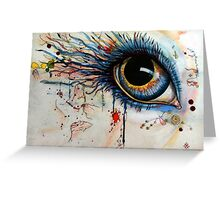 Blink of eyes - 1 Greeting Card