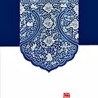 【2400+ views】Blue and white porcelain iPhone Case by Ruo7in