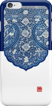 【3200+ views】Blue and white porcelain iPhone Case by Ruo7in