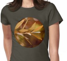 Visible Peace - an Olive Branch Womens Fitted T-Shirt