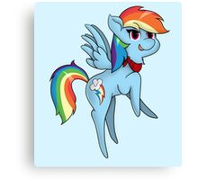 Chibi Rainbow Dash Canvas Print
