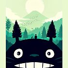 【7400+ views】Totoro Mountain by Ruo7in