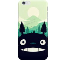 【7400+ views】Totoro Mountain iPhone Case/Skin