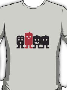 4 Little Robots T-Shirt