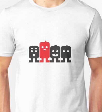 4 Little Robots Unisex T-Shirt