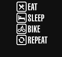 Eat, sleep, bike, repeat Unisex T-Shirt