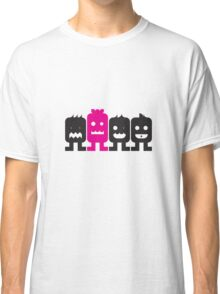 4 More Little Robots Classic T-Shirt