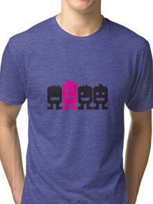 4 More Little Robots Tri-blend T-Shirt