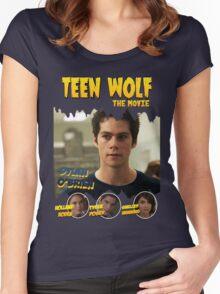 Teen Wolf Old Comic [Stilinski] Women's Fitted Scoop T-Shirt