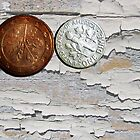 Two Coins - 2 by Bine