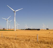 Waubra Windfarm by SmileyGidget