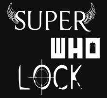 Super Who Lock by syrensymphony