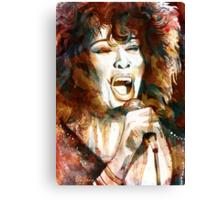 Tina Turner Canvas Print