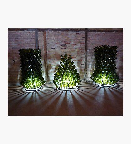 TEN GREEN BOTTLES .... Photographic Print