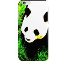 PANDA!monium - green iPhone Case/Skin