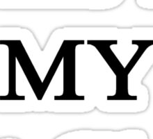 This Is MY Art Class  Sticker
