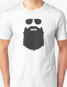 AVIATOR GLASSES AND BEARD T-Shirt