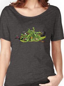 Hideously Mutated Ninja Turtles Women's Relaxed Fit T-Shirt