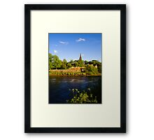 St Mary's Outside the Walls Chester Framed Print